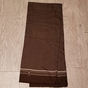 YSL Yves St Laurent scarf Vintage